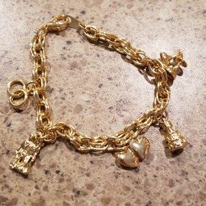 Jewelry - Bridal charm bracelet